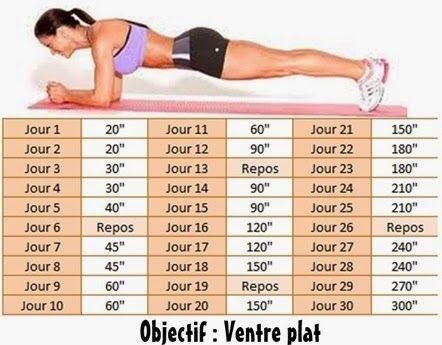 Très HAMISOITIL.FR: Challenge sportif = ventre plat   Sport   Pinterest  DO82