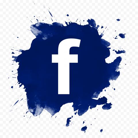 Blue Splash Facebook Fb Logo Icon Design Facebook And Instagram Logo Facebook Logo Transparent Logo Facebook