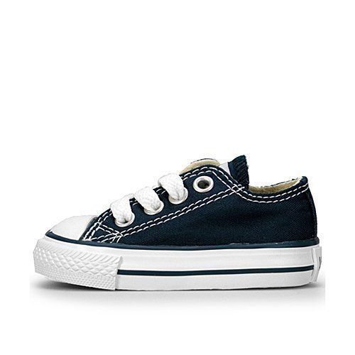 7d9a1fda7977 Converse Unisex Leather Athletic Shoes for Babies. Converse Infant Chuck  Taylor All Stars Ox - Navy-6 INFT Converse.  26.99