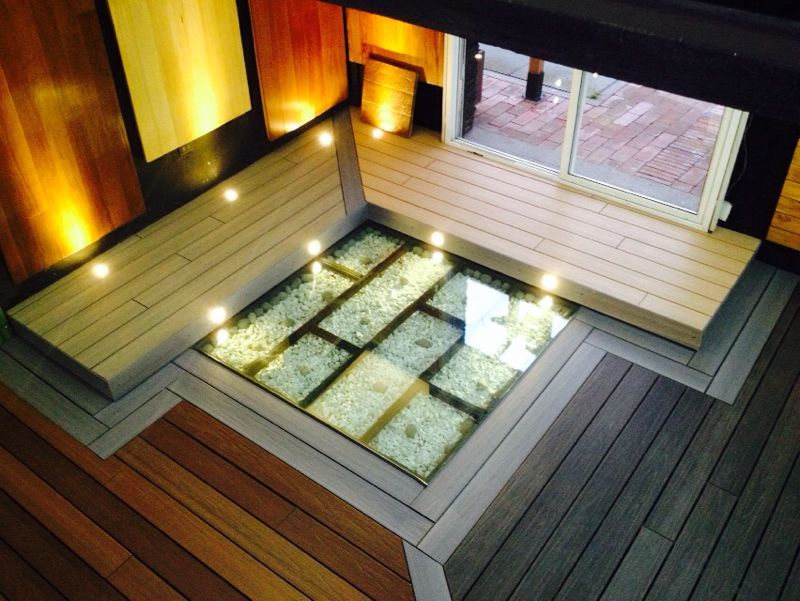 Showroom newtechwood latam en bogot colombia naturale for Piscina sustentable