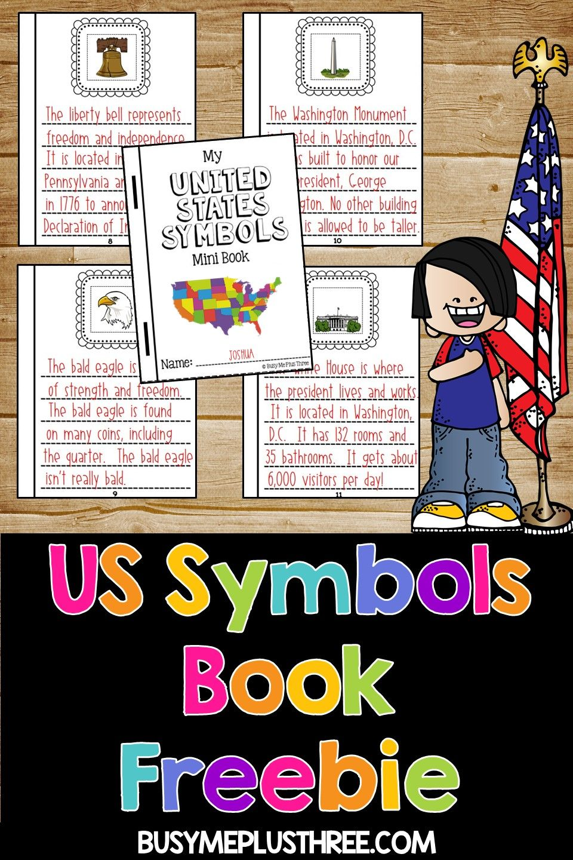 small resolution of United States Symbols Book Activity   United states symbols