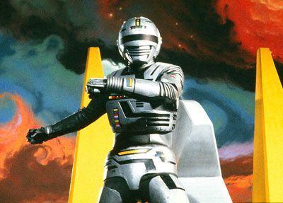 gaban o policial do espaço: