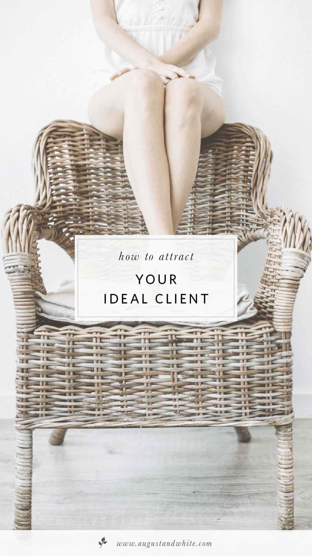 How to Attract Your Ideal Client Client profile, How to