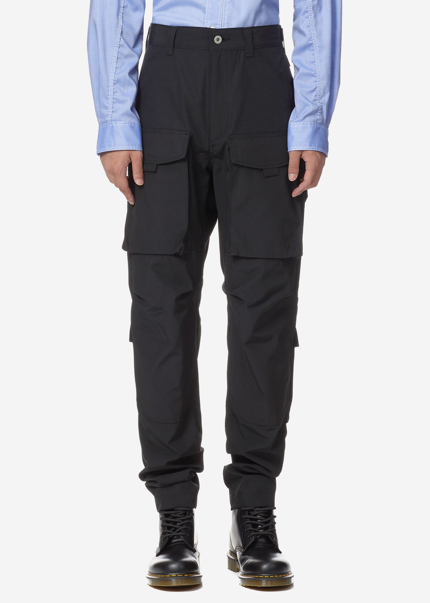 best selection of 2019 choose authentic vivid and great in style JUNYA WATANABE POLYESTER COTTON FRONT CARGO PANTS ...