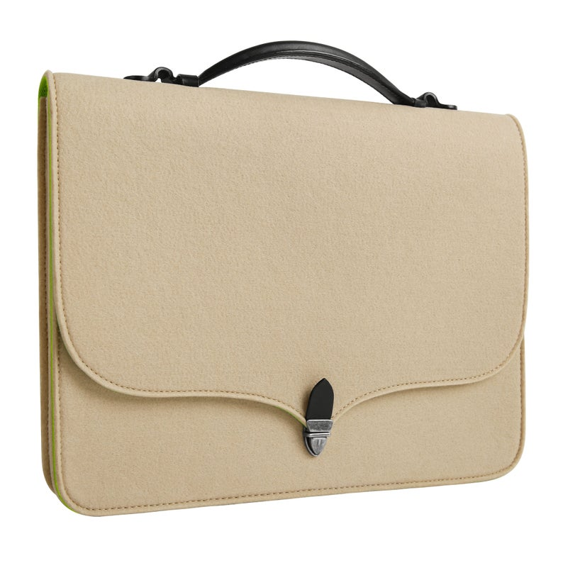 Tophome Wool Felt Portable Laptop Sleeve Laptop Case Etsy Macbook Case Portable Laptop Cosmetic Bag Organization