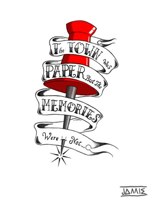 Paper Towns one of my favorite books....... along with all the other john green books lol