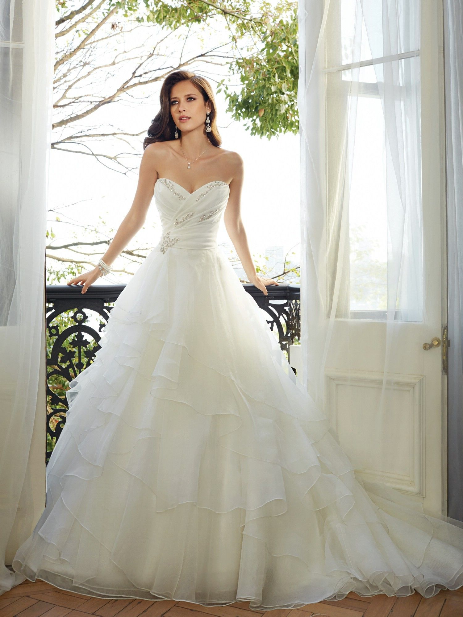 I Love The Skirt On This Dress Sophia Tolli 2015 Bridal Collection