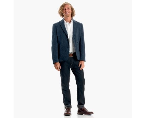 Men's Premium Harris Tweed Wool Blazer - Timberland