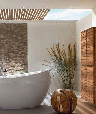 Iluminacion natural en baños5  DECORACION PIZARRA ...