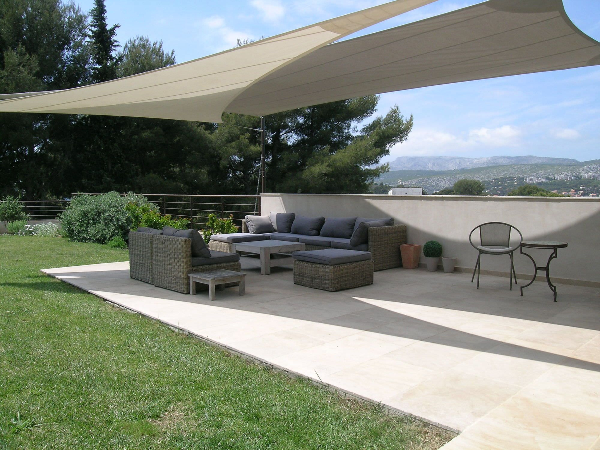 attractive shade sails color display for outdoor beauty of your ... - Patio Shade Cloth Ideas