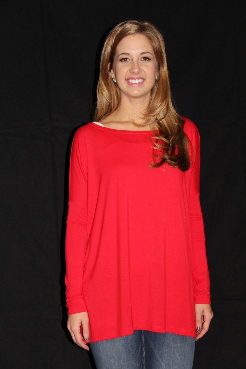 The Willow Tree - Red Piko Top, $29.95 (http://willow-tree.mybigcommerce.com/red-piko-top/)