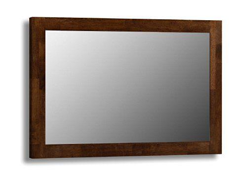 Julian Bowen Minuet Mirror Dark Wood Hanging Wall