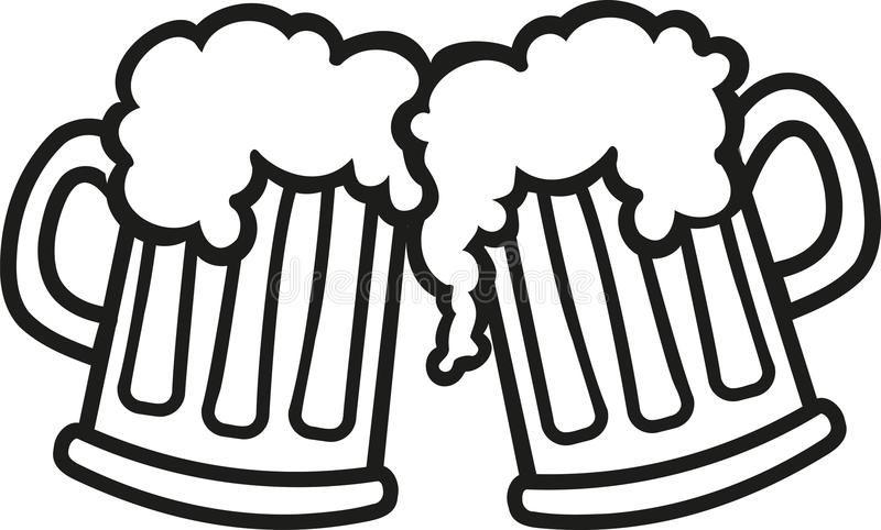 Pin By Cesar Medina On Art Inspiration Beer Drawing Beer Mug Clip Art Beer Tattoos