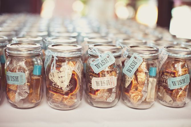 Candy In Mason Jar Wedding Favour Ideas Mason Jar Wedding Favors Edible Wedding Favors Candy Wedding Favors