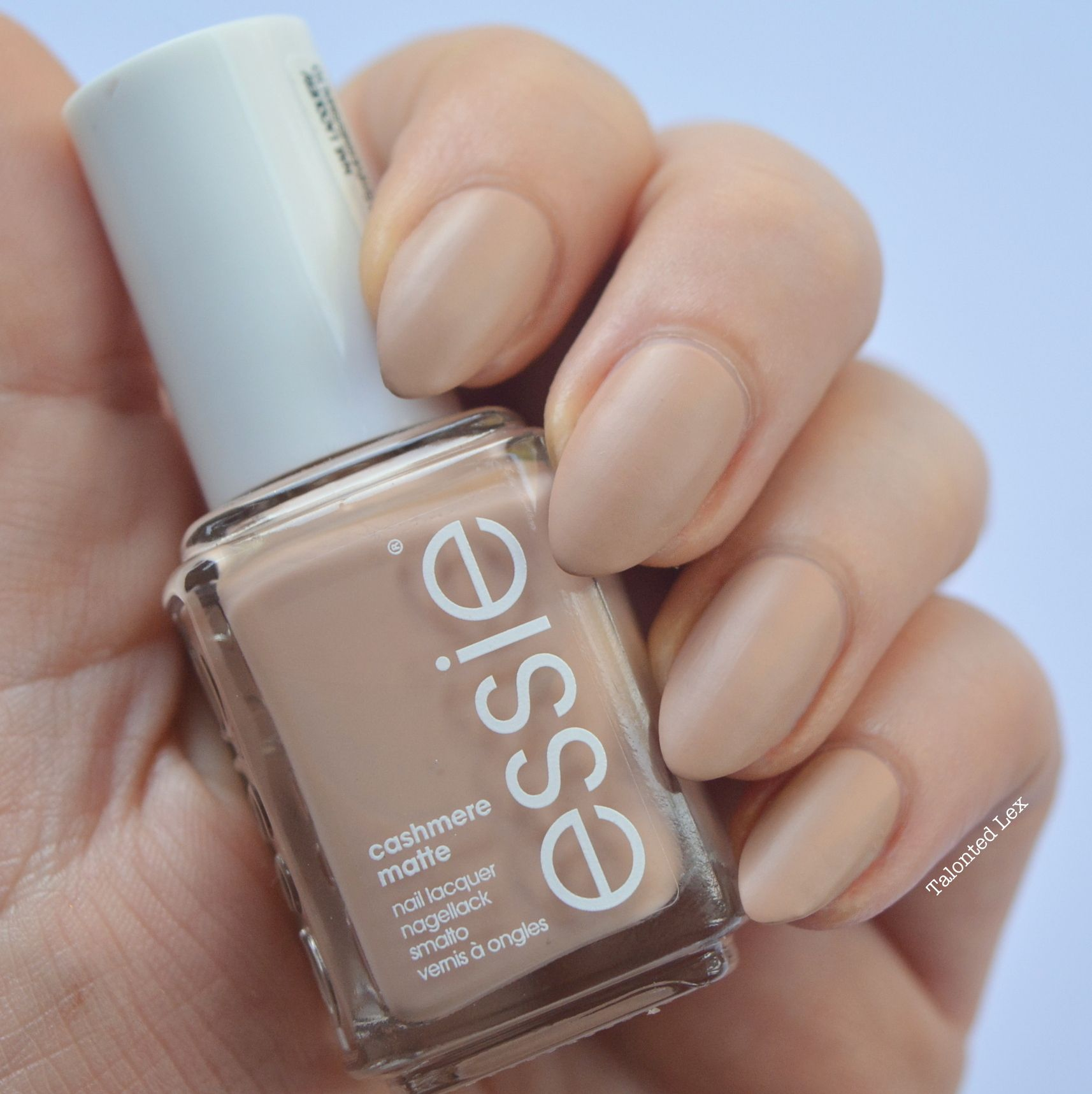 essie Cashmere matte collection - \'all eyes on nudes\' - Talonted Lex ...