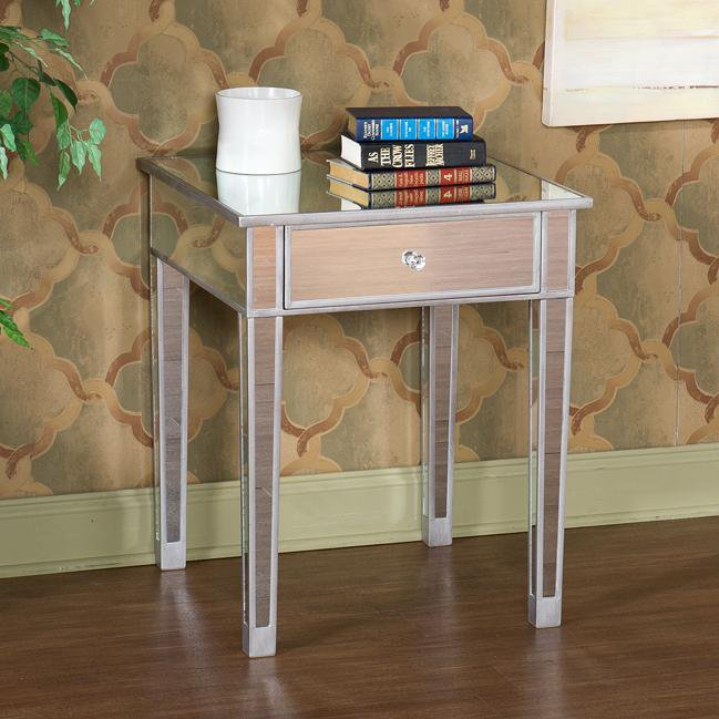Mirrored Nightstand, Mirrored Furniture, Mirrored Side Tables, Bedside  Tables, Nightstands, End Tables, Night Table, Dream Bedroom, Master Bedrooms