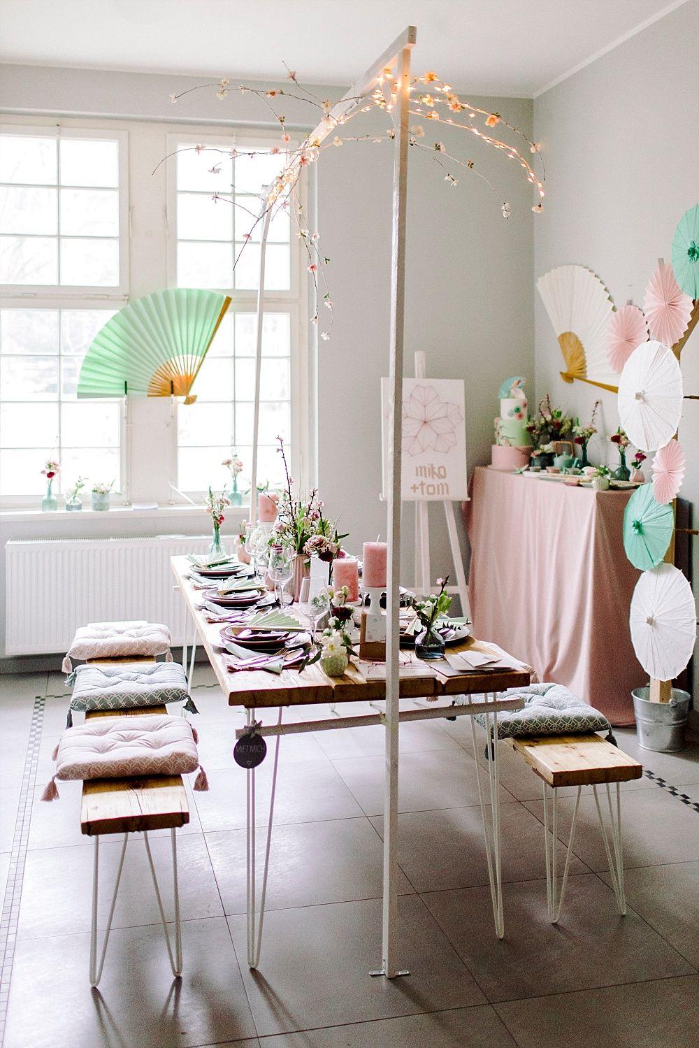 Tischdekoration Hochzeit Fruhling Rosa Tischdeko Rosa Hochzeit