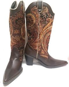 WOMEN-039-S-WESTERN-POINTY-TOE-RODEO-COWGIRL-COWBOY-BOOTS-SODA-BJORK