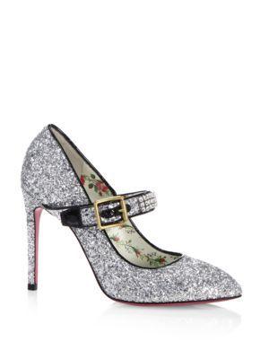 712c8e8a57f GUCCI Sylvie Glittery Stiletto Mary Jane.  gucci  shoes