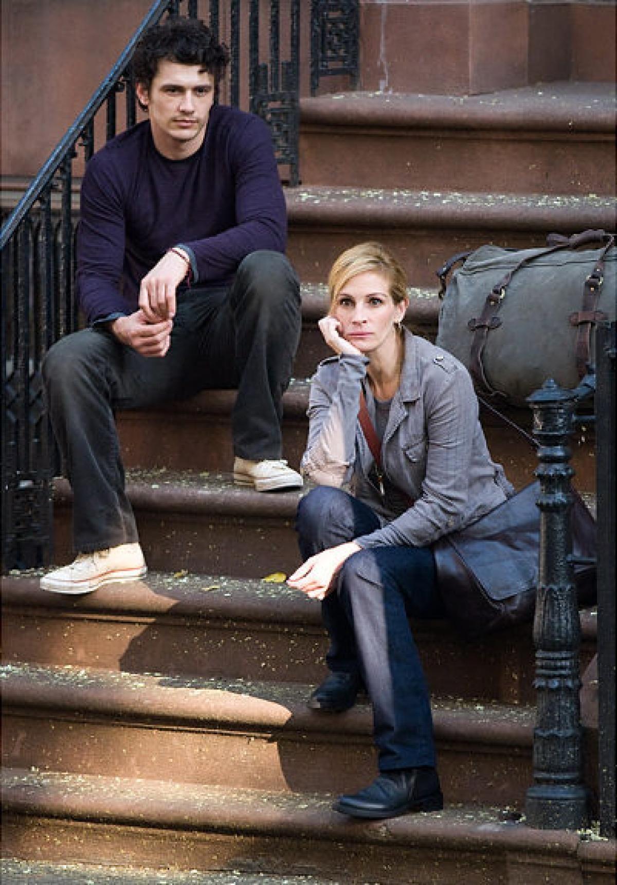 James Franco And Julia Roberts Comer Rezar Amar Pelicula Elizabeth Gilbert Comer Rezar Amar