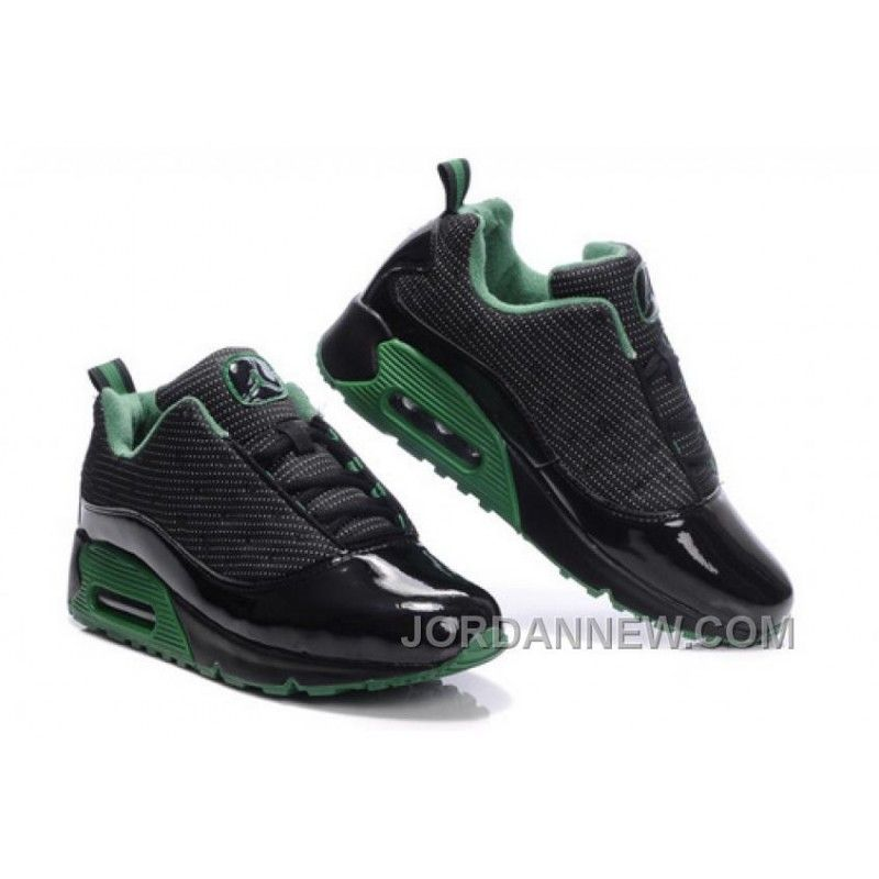 Men's Nike Air Jordan 13 Low Shoes Black/Dark Green Best ZHjJKTC, Price:  $95.11 - Air Jordan Shoes, Michael Jordan Shoes