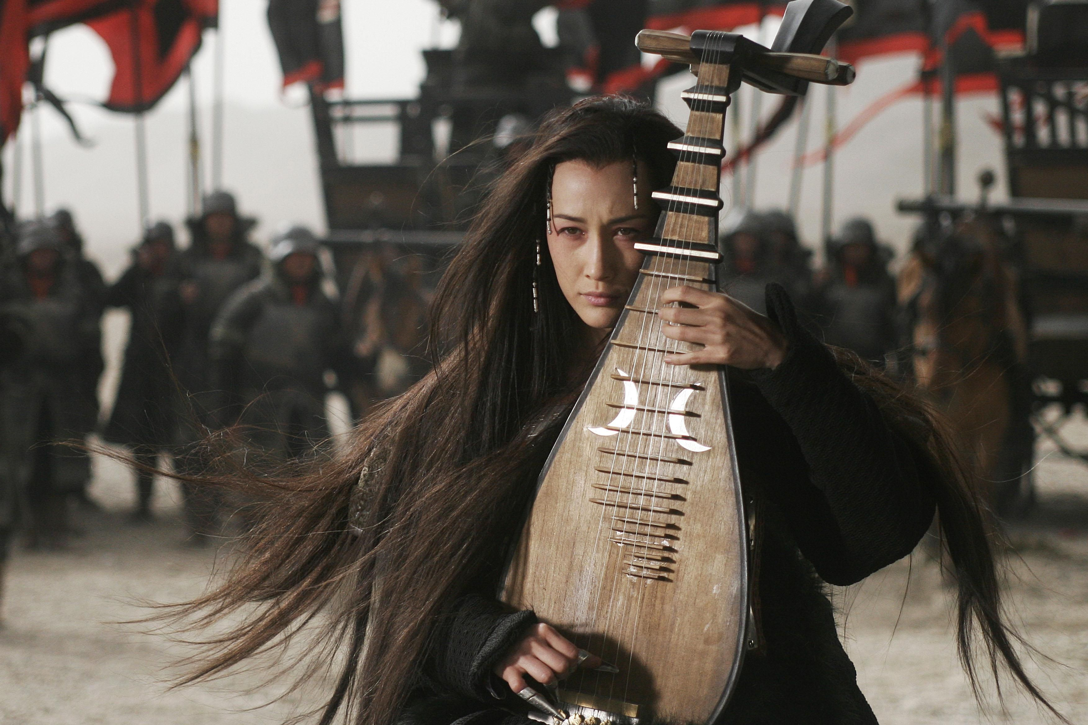 Maggie Q In A Scene From Three Kingdoms Resurrection Of