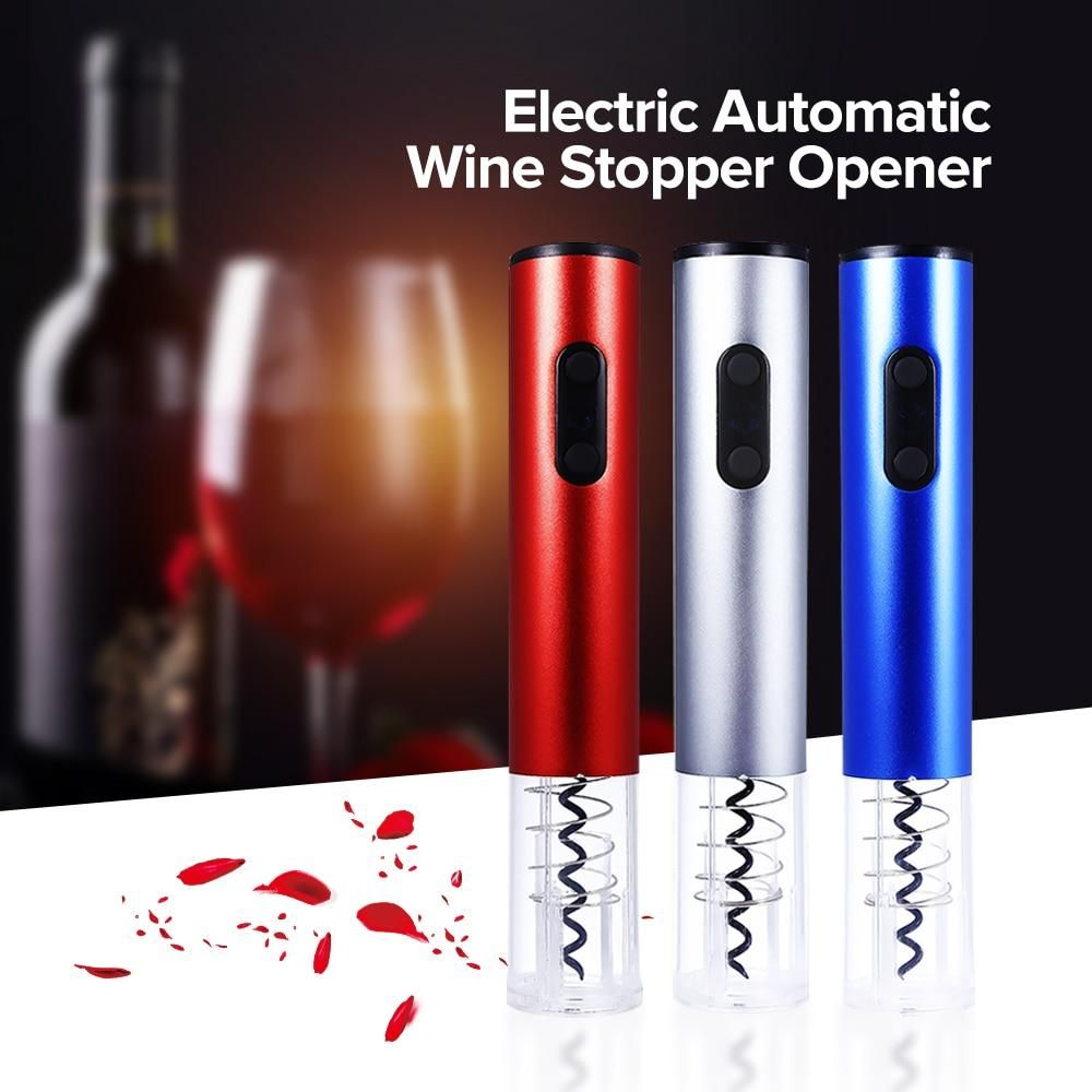 Electric Wine Bottle Opener With Foil Cutter In 2020 Electric Wine Bottle Opener Wine Bottle Opener Electric Wine Opener