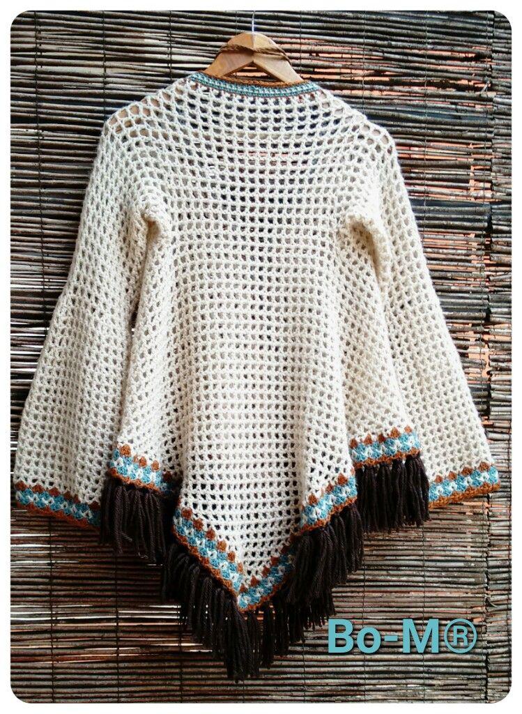 Bo-M: Cape Coat | faça vc mesmo | Pinterest | Ponchos, Suéteres y Blusas