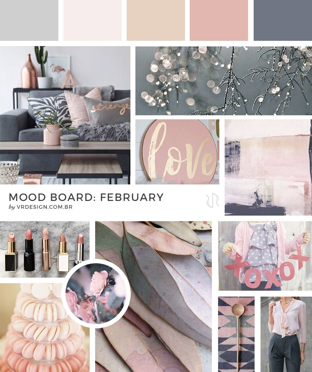 Mood Board: February  Mood board inspiration, Interior design