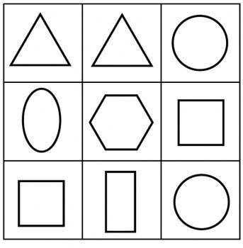 Coloriage a imprimer formes g om triques activit s du for Dessin en forme geometrique
