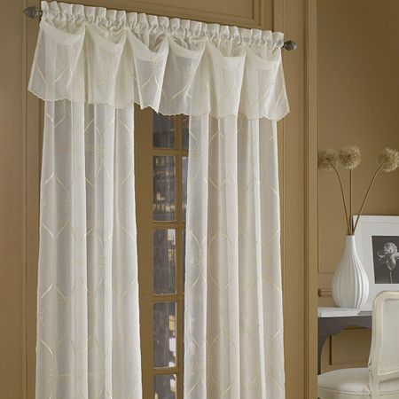 Croscill Cavalier Sheer Window Collection (With images) | Window treatments sheer, Sheer drapery ...