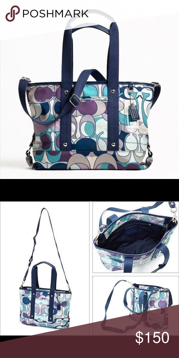ecc0e5cb963 Coach Bag NWT   My Posh Picks   Pinterest   Coach bags, Crossbody ...