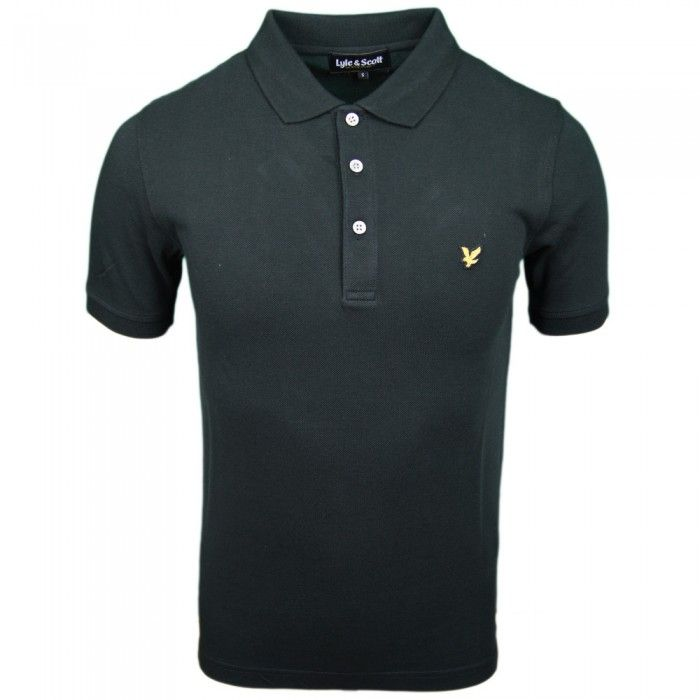 Lyle & Scott Vintage Polo Shirt for Men in Black | Available at www.designer-man.co.uk #mens #discounted #designer #fashion