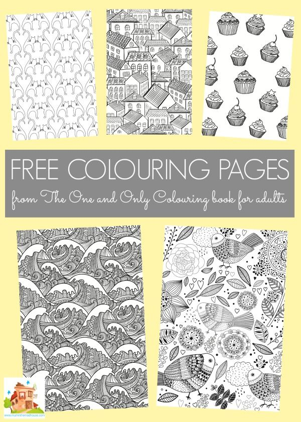 Coloring Book For : More great free colouring pages for adults best coloring books
