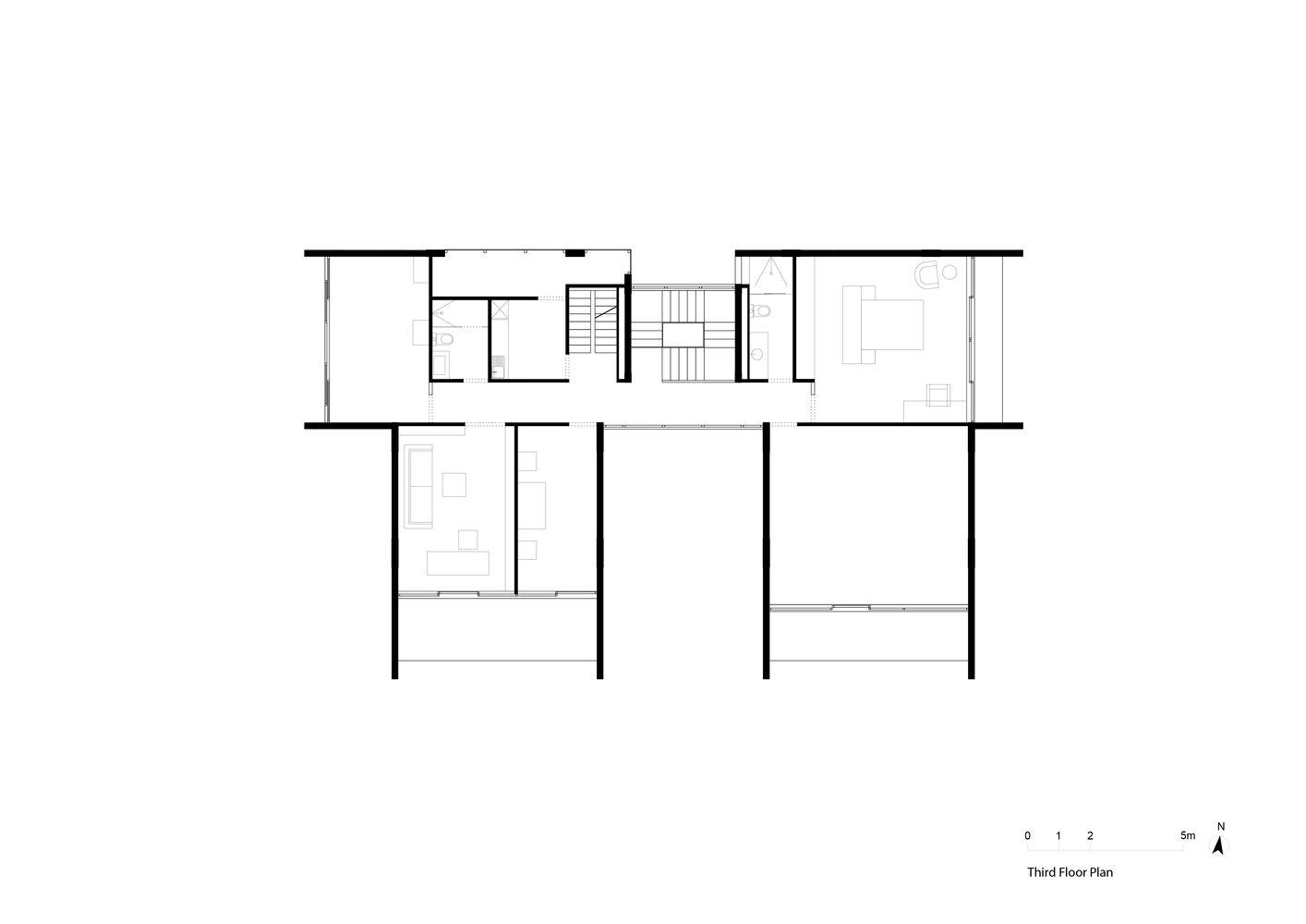 Gallery Of Concerto House Baumschlager Eberle Architekten 50 Craftsman Floor Plans Luxury Plan Architecture Plan