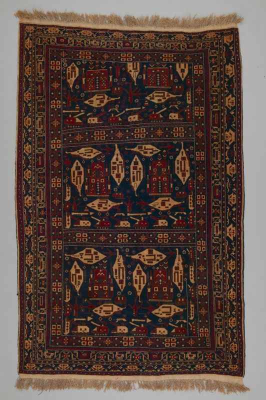 Rug Afghanistan 1980s On View In From Ashgabat To Istanbul Oriental Rugs From Canadian Collections At Textile Museum Of Rugs Textile Museum Oriental Rug