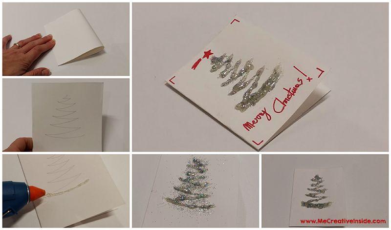 bigliettino auguri di Natale Merry Christmas ME creativeinside