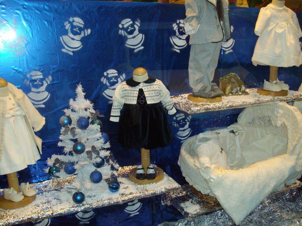 Allestimento Natale - Punto Vendita #IoBimboSardegna #Oristano #Natale #2012 #Vetrina #Natale