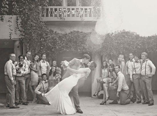 A roaring wedding