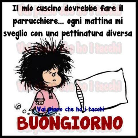 Mafalda frasi divertenti funny quotes good morning e for Vignette buongiorno divertenti