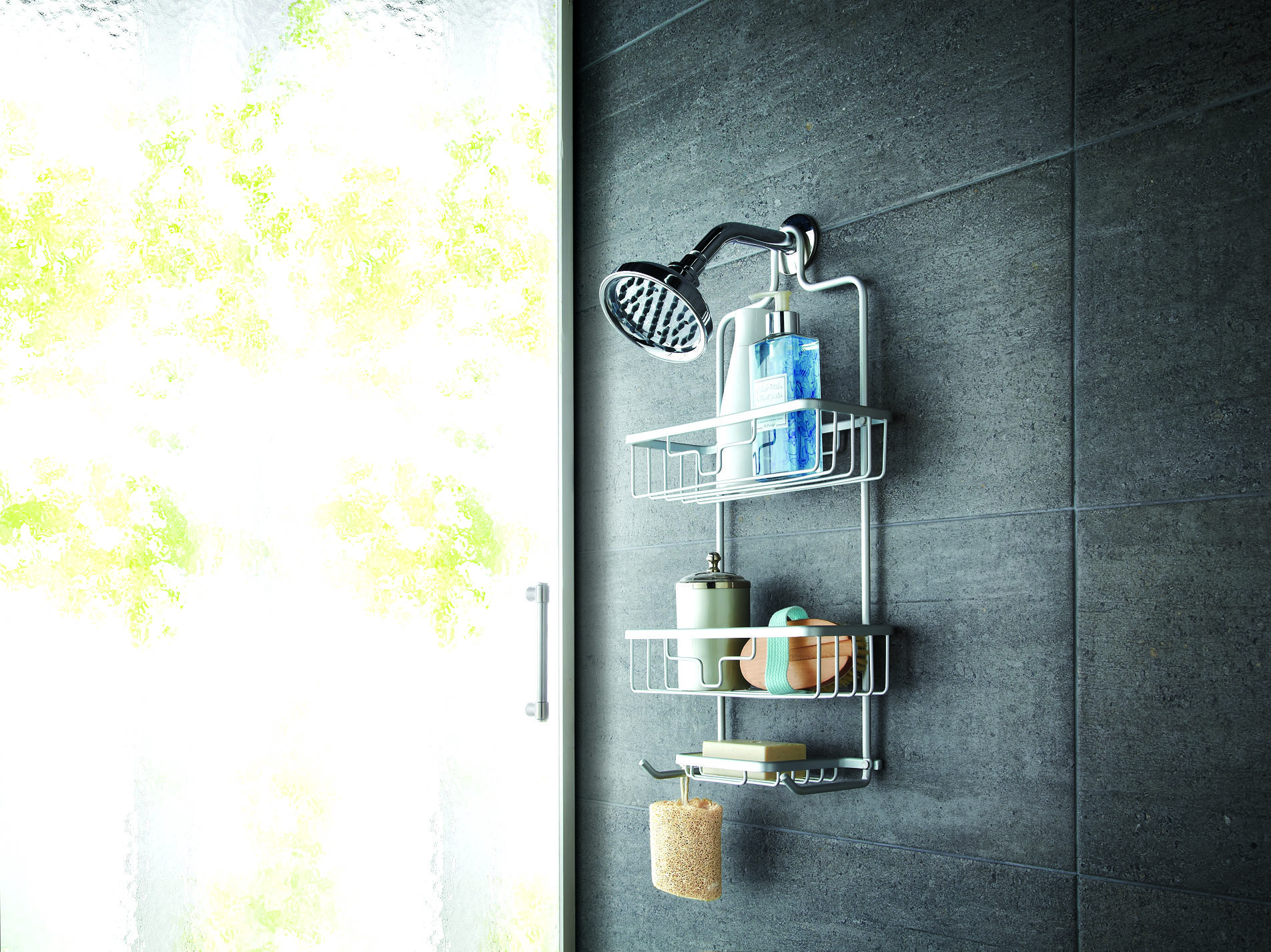 This ultra durable Neverrust Shower Caddy is made from anodized ...