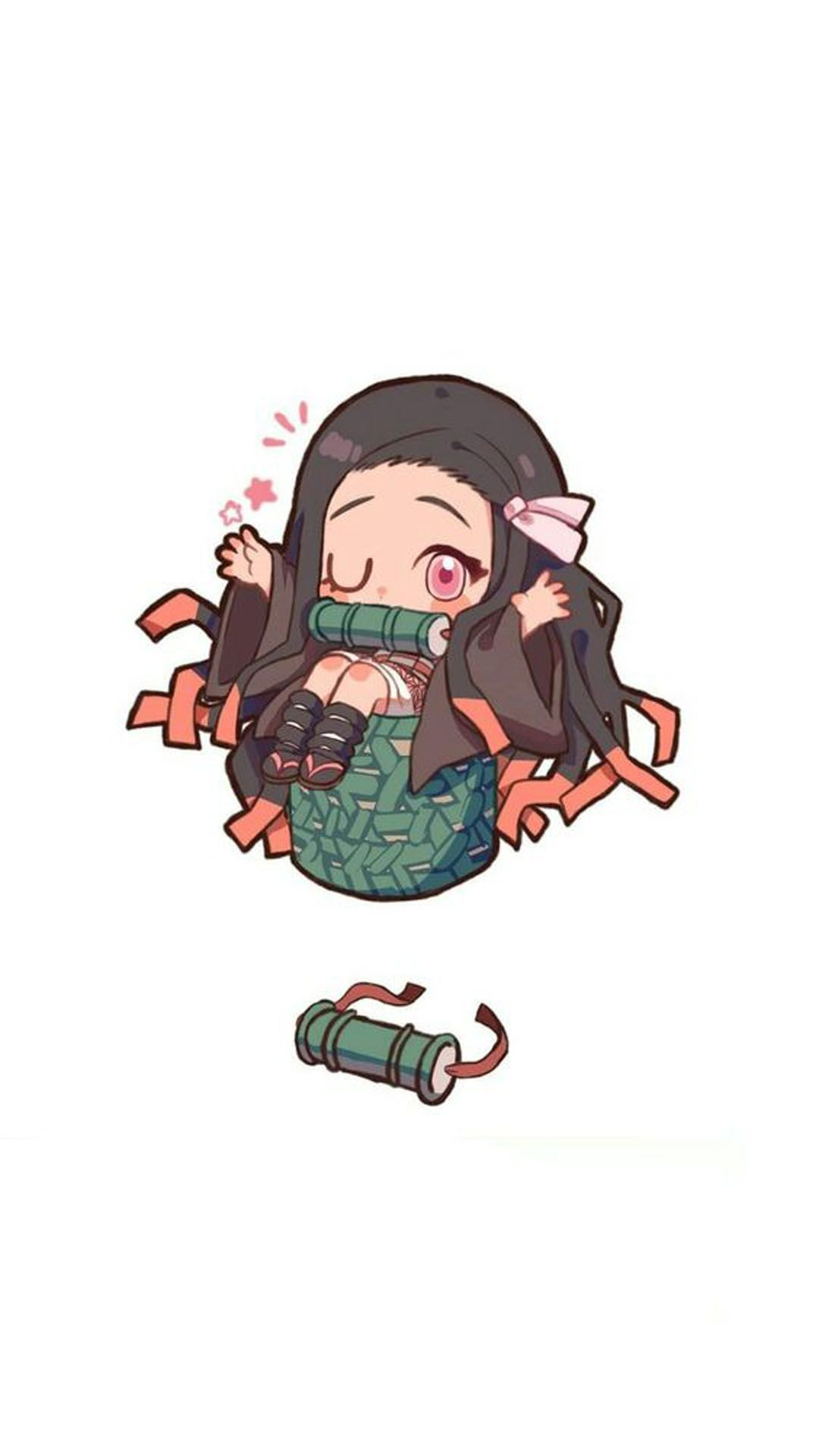 Nezuko Kamado Wallpaper Chibi Wallpaper Anime Chibi Anime Demon