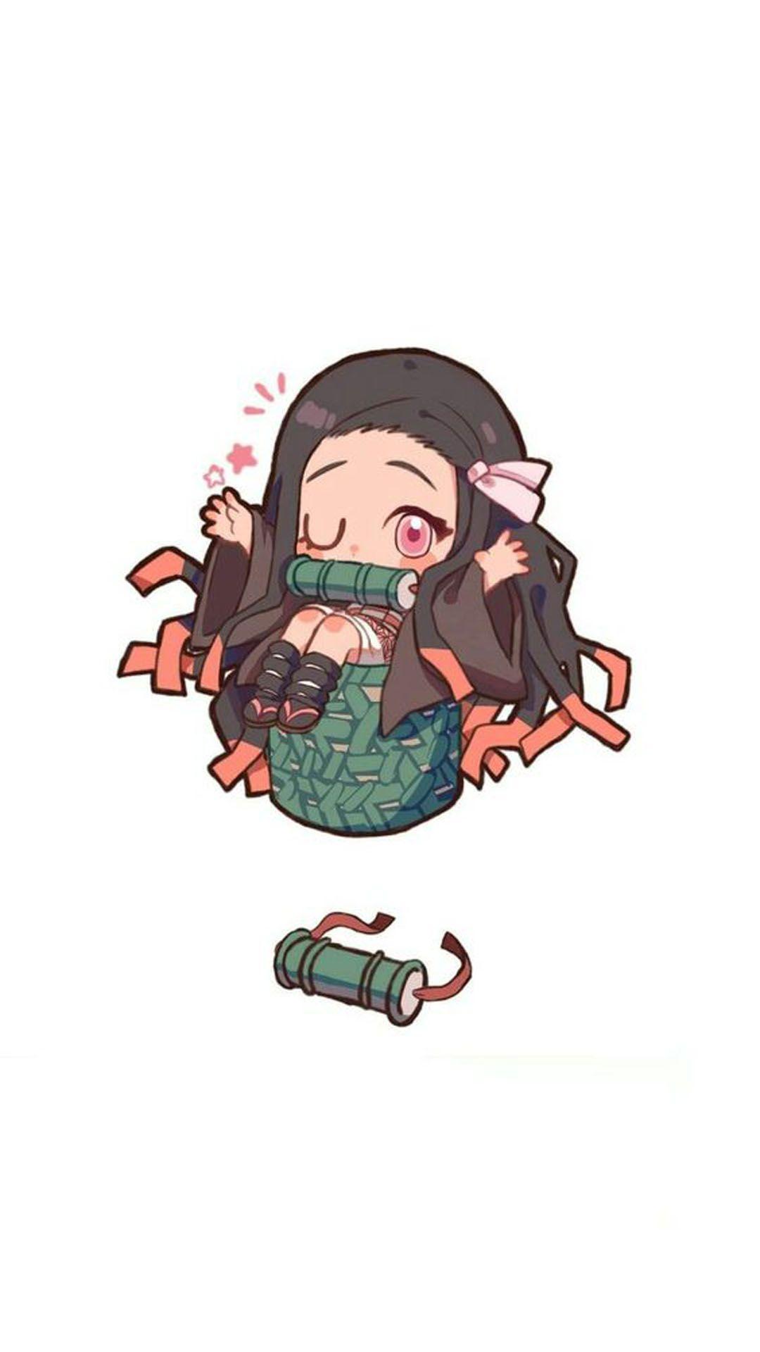 Nezuko Kamado Wallpaper In 2020 Anime Chibi Anime Demon Chibi