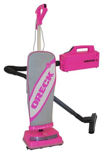 Buy Cheap Oreck Pink U3761HH Upright Vacuum Plus Compact Canister