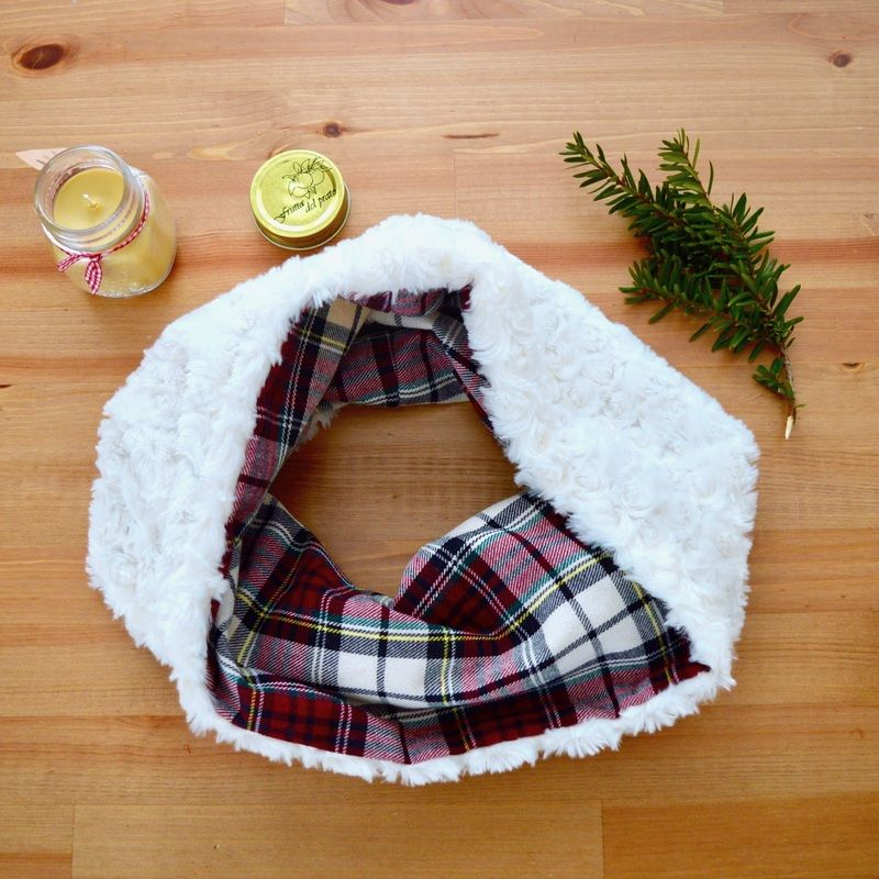 Como hacer una bufanda doble vista paso a paso. Las manualidades y/o ...