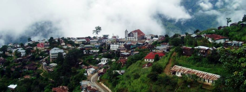 Falam Town in Chin State. Myanmar. | Chin state, Travel, Scenery