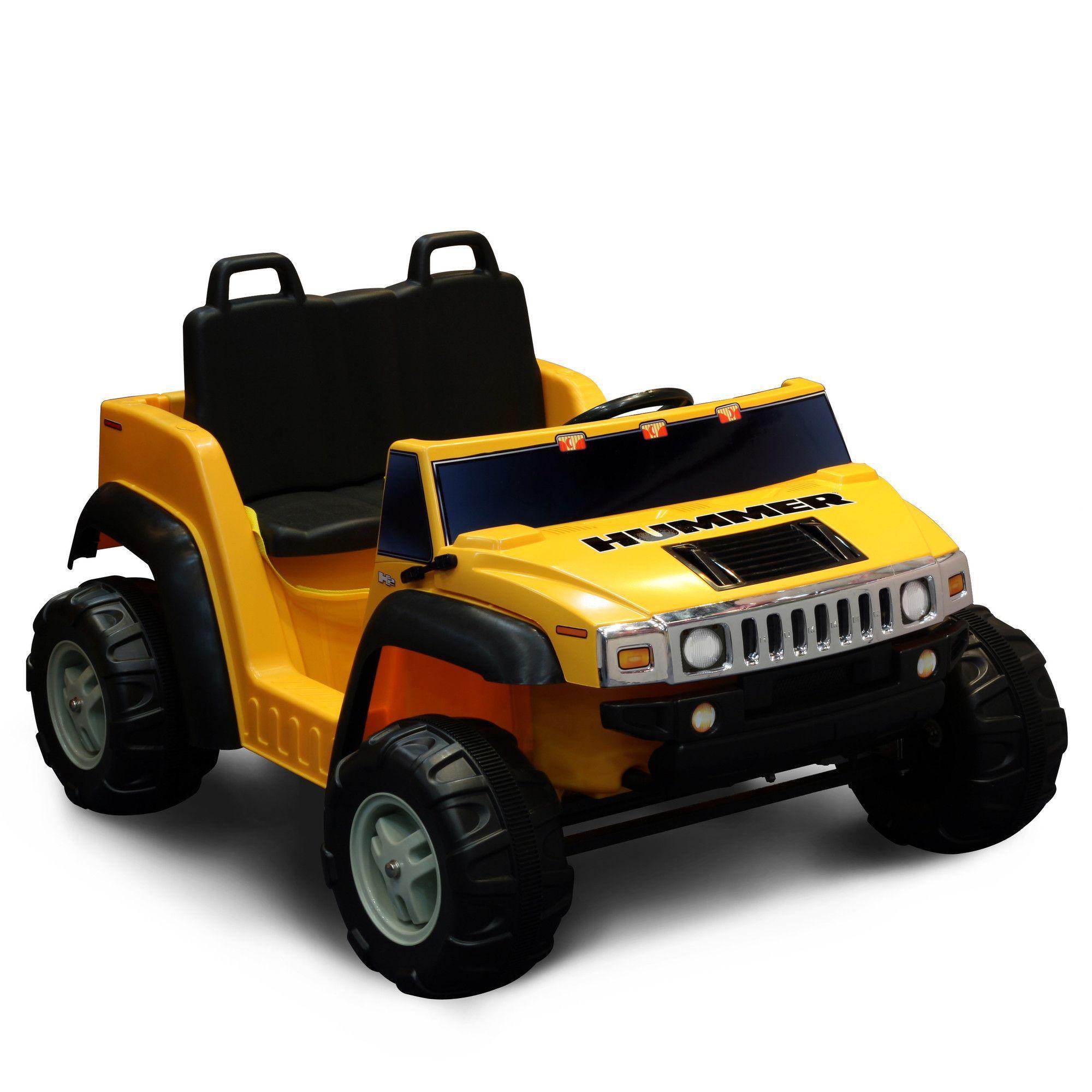 Hummer H2 12v Battery Powered Jeep Hummer H2 Hummer Ride On Toys