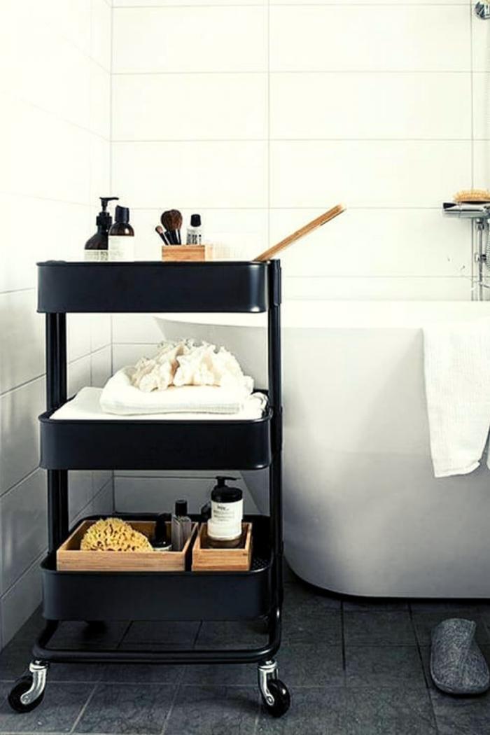 Great Furniture Bathroom Storage idea
