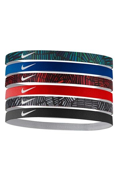 Nike Sport Headbands (6-Pack) available at  Nordstrom  fa3ef2323cf