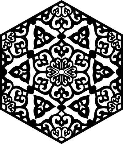 زخارف اسلامية حلوه للمنتديات بنات جميلة Islamic Pattern Beautiful Rose Flowers Art